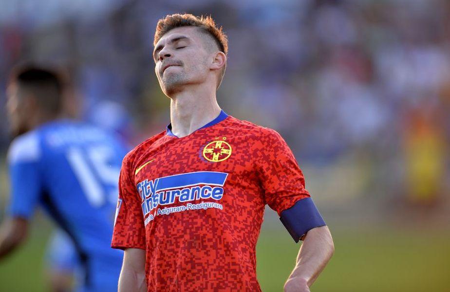 Florin Tănase este unul dintre preferații lui Gigi Becali de la FCSB