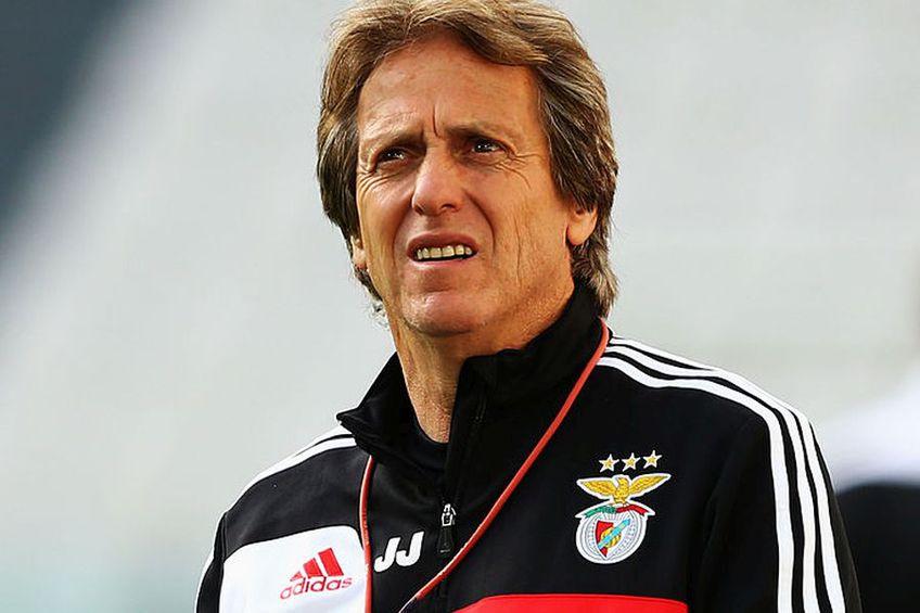 Jorge Jesus a mai antrenat-o pe Benfica între 2009 și 2015