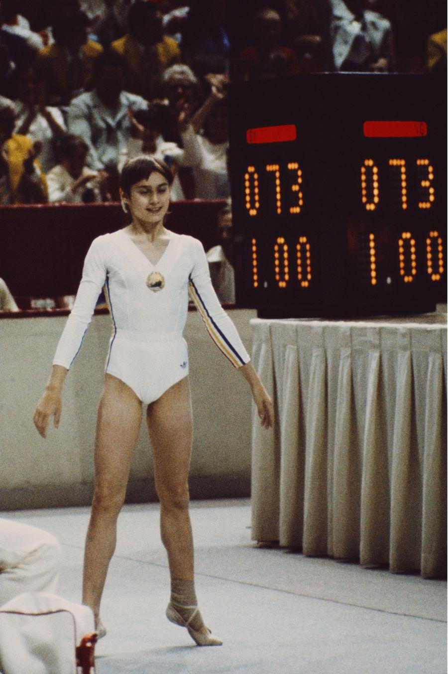 Nadia Comăneci și nota de 1.00 în 1976 la Montreal FOTO Guliver/GettyImages