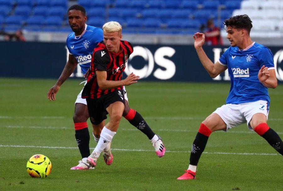 VIDEO Rangers, cu Ianis Hagi titular, a câștigat meciul amical cu Nice și trofeul Veolia » La francezi a jucat Flavius Daniliuc