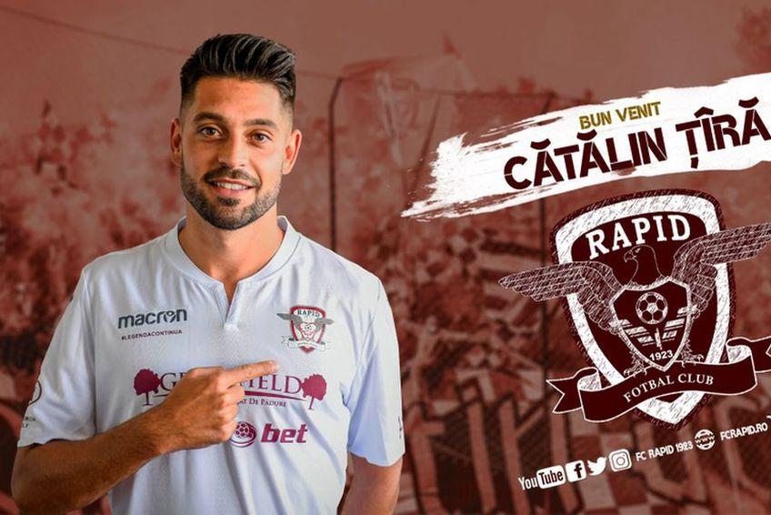 Cătălin Țîră // foto: Facebook @ FC Rapid 1923