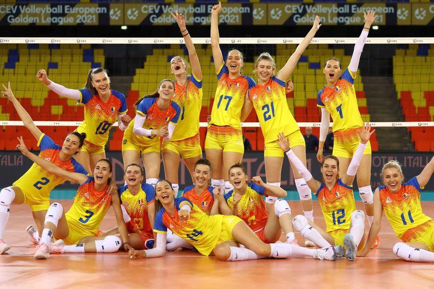 Echipa României la turneul Golden League din acest an // FOTO Marius Ionescu