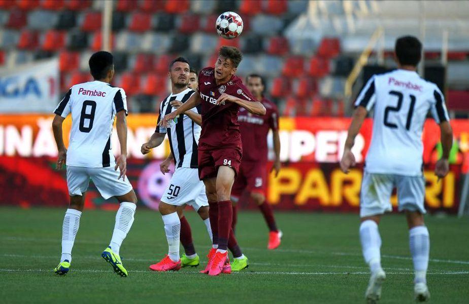Astra Giurgiu și CFR Cluj joacă într-unul dintre cele mai tari meciuri ale etapei #4 din Liga 1.