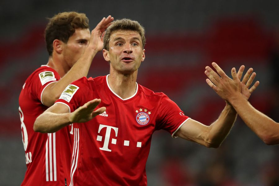 FOTO Bayern Munchen - Schalke 8-0