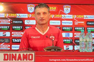 """Noul antrenor al lui Dinamo, în fața primului meci ca principal: """"Nu vreau să par infatuat, dar nu există altă variantă"""""""