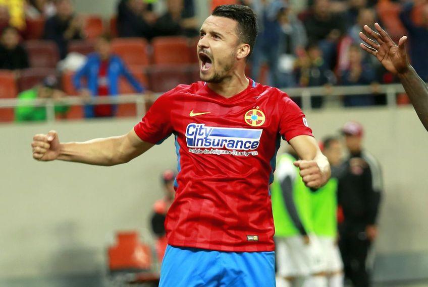 Constantin Budescu (32 de ani, mijlocaș ofensiv) este rezervă la FCSB pentru meciul cu FCU Craiova.