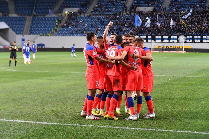 FCSB a învins-o pe FCU Craiova, scor 1-0, în runda #9 din Liga 1.