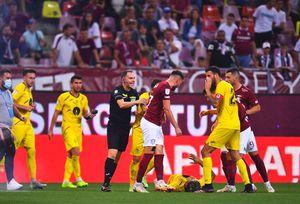"""Rapid, dezavantajată clar în meciul cu Gaz Metan » Verdictul lui Ion Crăciunescu: """"Cum mai arbitrează omul ăsta în Liga1?"""""""