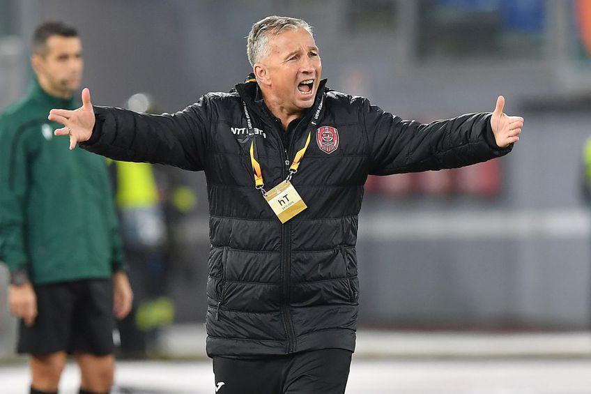 Dan Petrescu nu s-a întors cu noroc pe banca lui CFR Cluj