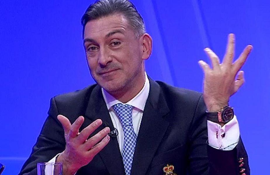 Ilie Dumitrescu și jurnalistul Cristian Geambașu s-au contrazis pe seama prestațiilor pe care Borja Valle (28 de ani) le-a avut în tricoul lui Dinamo.