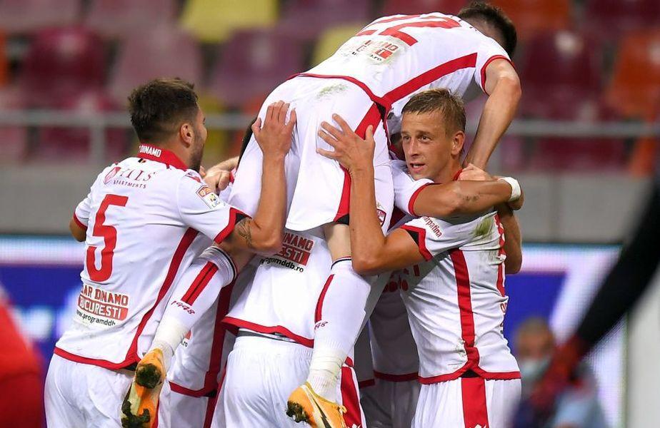 Janusz Gol (primul din dreapta) nu va juca în Sepsi OSK - Dinamo