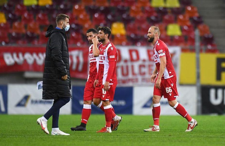 Dinamo a fost învinsă de Craiova, 0-1