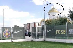"""Gigi Becali dezvăluie cât a costat acoperișul bisericii din baza sportivă a FCSB-ului: """"E din aur!"""""""