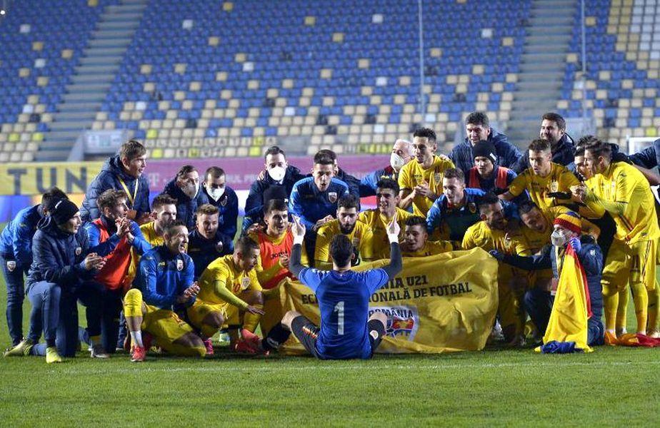 România U21 s-a calificat la EURO 2021 FOTO: Cristi Preda