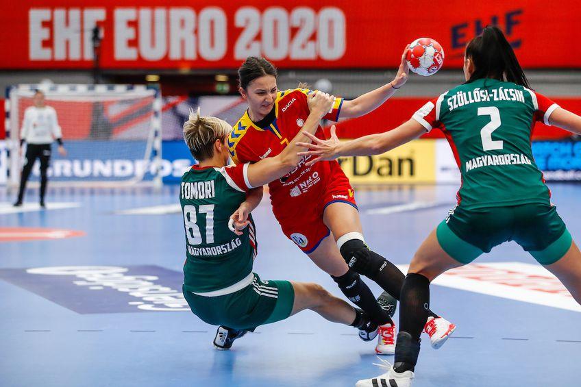 Eliza Buceschi a revenit după un an de pauză la echipa națională. Evoluțiile ei au fost, normal, sub aștepătări FOTO Stanko Gruden  kolektiffimages