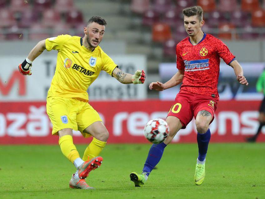 FCSB s-a impus în derby-ul cu CS Universitatea Craiova, scor 2-0. Dumitru Dragomir (74 de ani), fostul președinte al LPF, le distruge speranțele la titlu oltenilor.