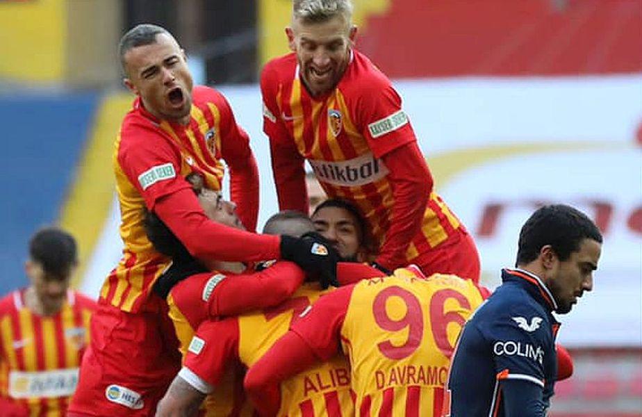 Kayserispor caută victoria cu Istanbul Basaksehir // foto: Twitter @ Kayserispor