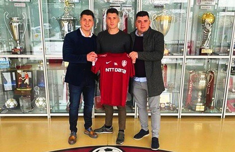 CFR Cluj l-a transferat pe atacantul Sebastian Robert Serediuc (20 de ani).