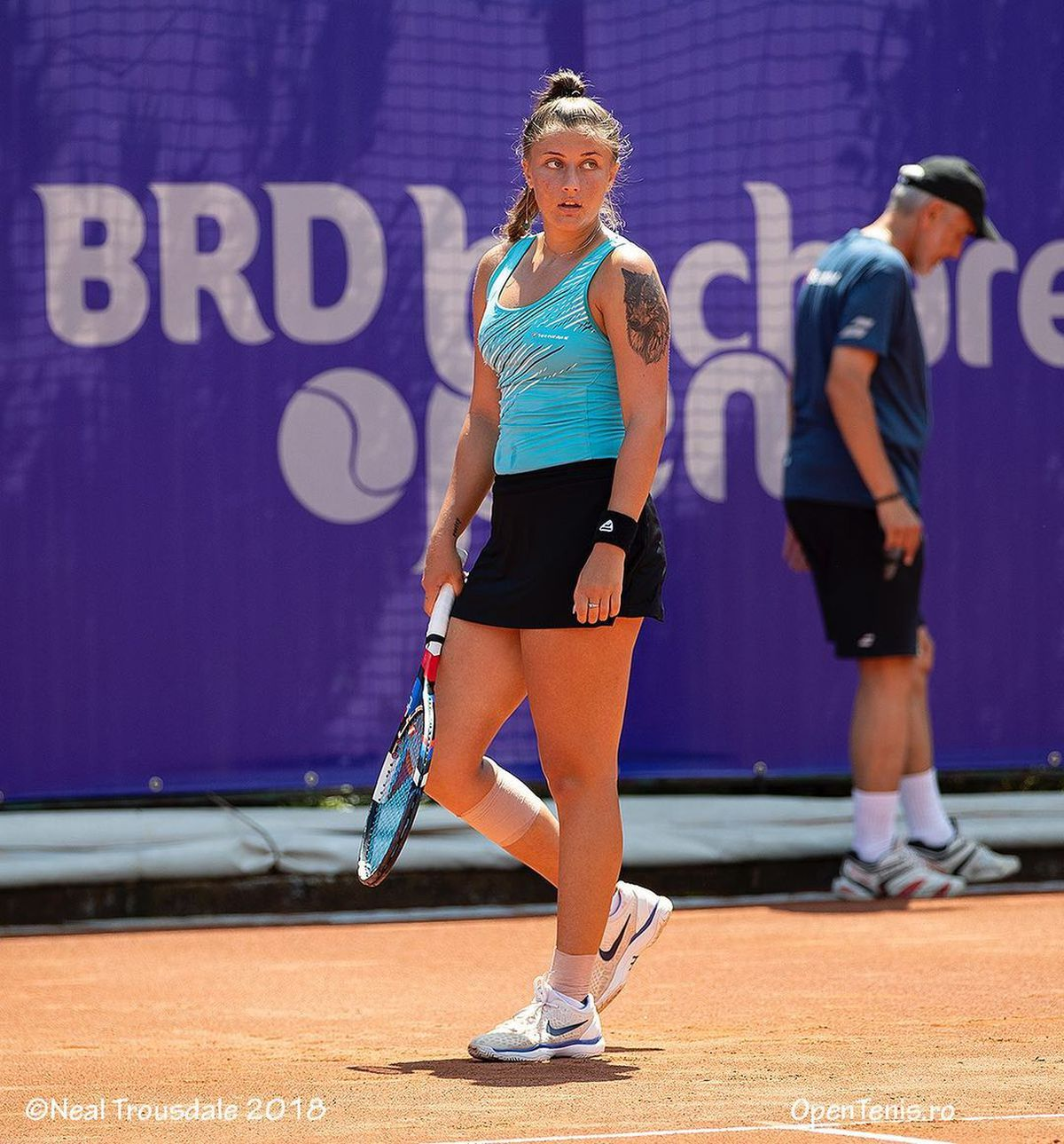FOTO Nici ei nu i-a venit să creadă! Ce a făcut Andreea Prisăcariu, după victoria fără game pierdut