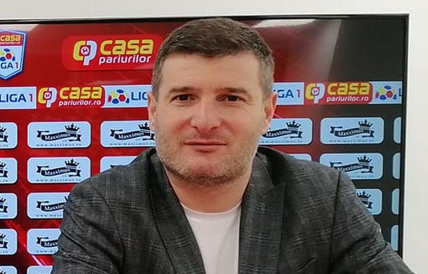 UTA a învins-o pe FC Voluntari, scor 1-0. Laszlo Balint (41 de ani), antrenorul arădenilor, a salutat prima victorie a echipei sale din noiembrie 2020.