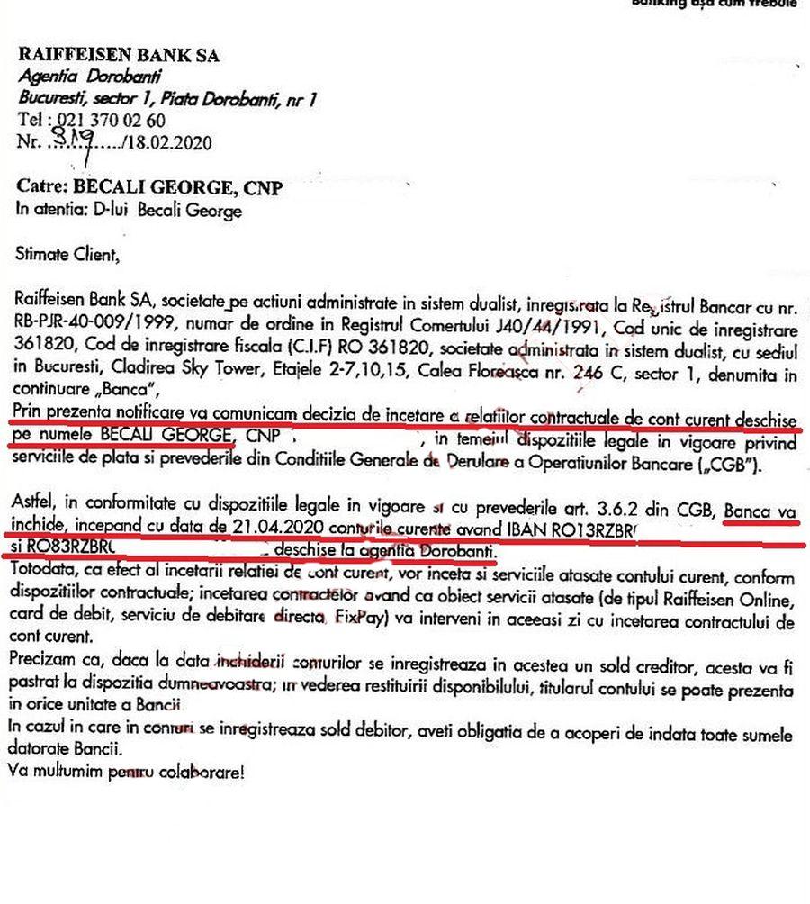 """Documentul care aruncă în aer fotbalul românesc! DNA: """"Gigi Becali a finanțat FCSB cu bani din despăgubirea frauduloasă!"""
