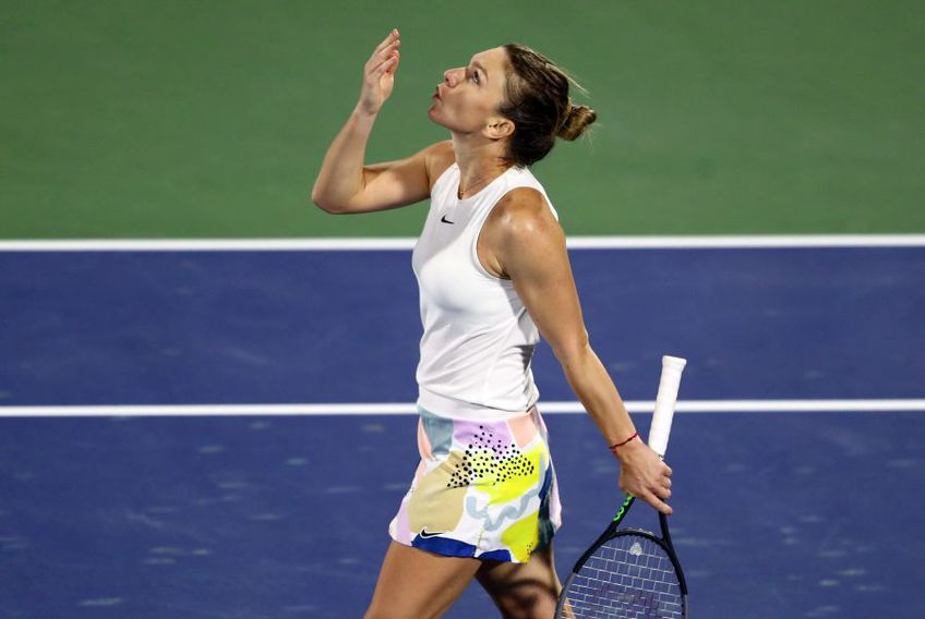 Simona Halep la Australian Open 2020 // foto: Getty