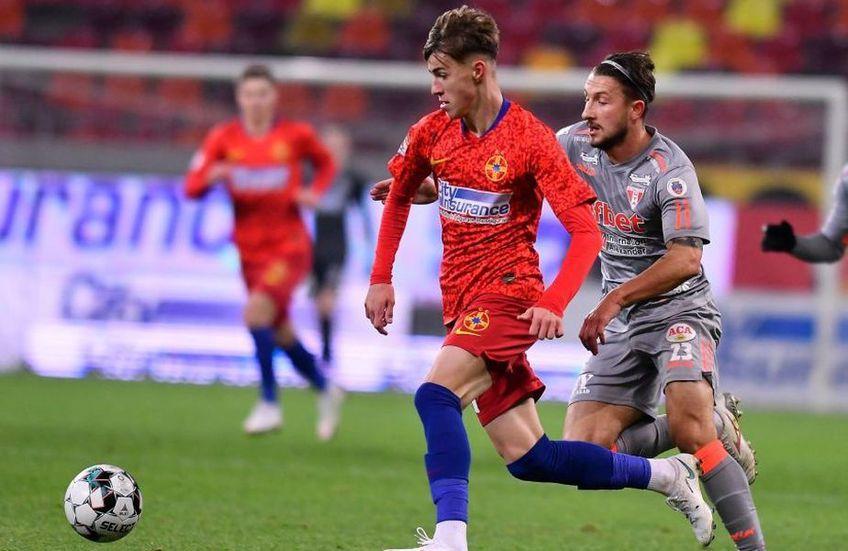 Octavian Popescu (18 ani) este cel mai în vogă fotbalist din Liga 1. Mijlocașul celor de la FCSB s-a deschis într-un interviu acordat celor de la LPF.