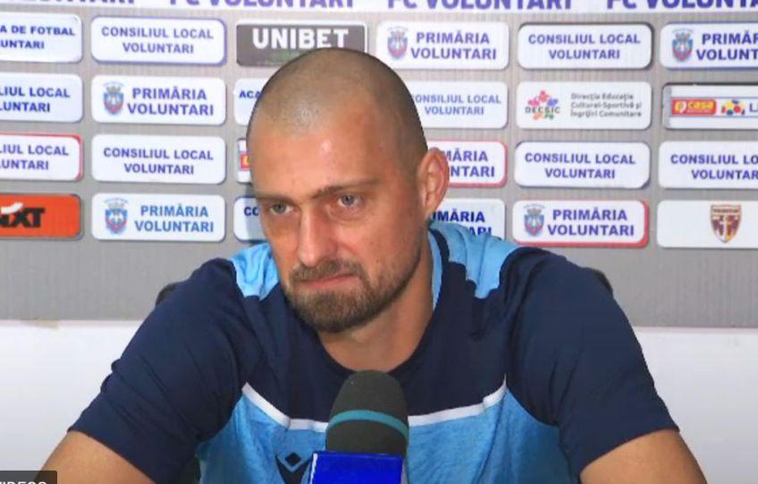 Gabriel Tamaș (37 de ani) a debutat la FC Voluntari în eșecul cu FC Argeș, scor 0-1. După meci, fundașul central a oferit un interviu extrem de dur și a dezvăluit că vrea să se retragă la Hapoel Haifa, în Israel.