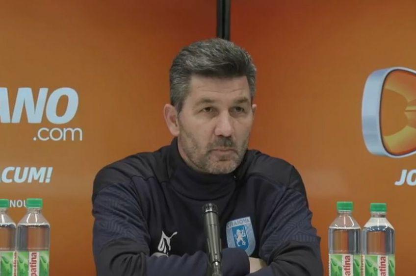 Marinos Ouzounidis (52 de ani) e mulțumit de victoria Craiovei în fața lui Hermannstadt, scor 1-0, dar anunță schimbări importante la echipă.