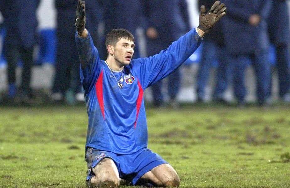 Claudiu Răducanu a jucat pentru Steaua în perioada 2000-2004
