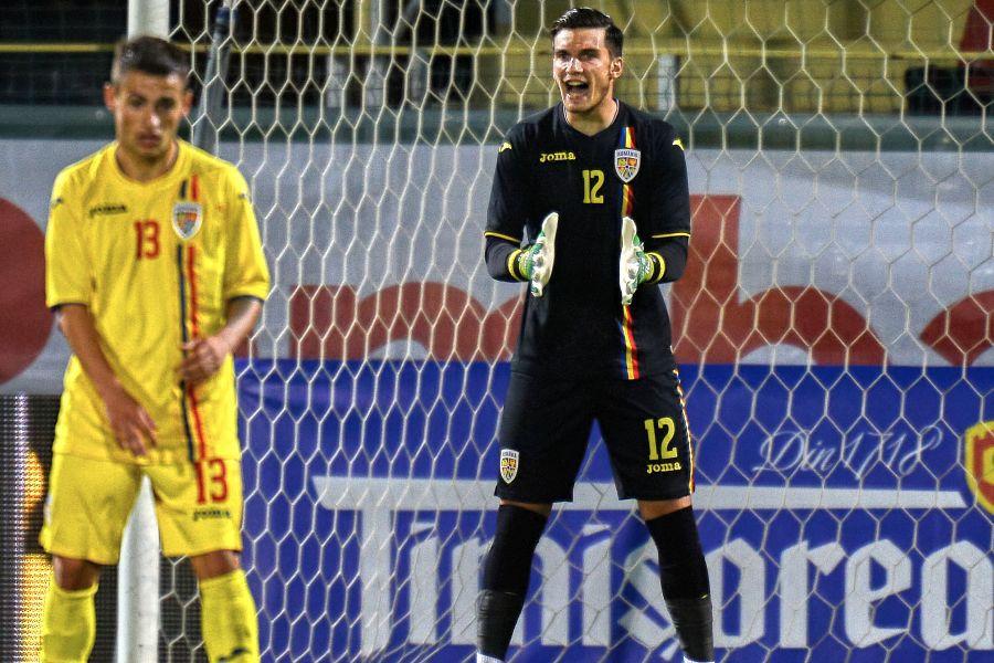 Aioani e în lotul naționalei U21 pentru Europeanul din această lună