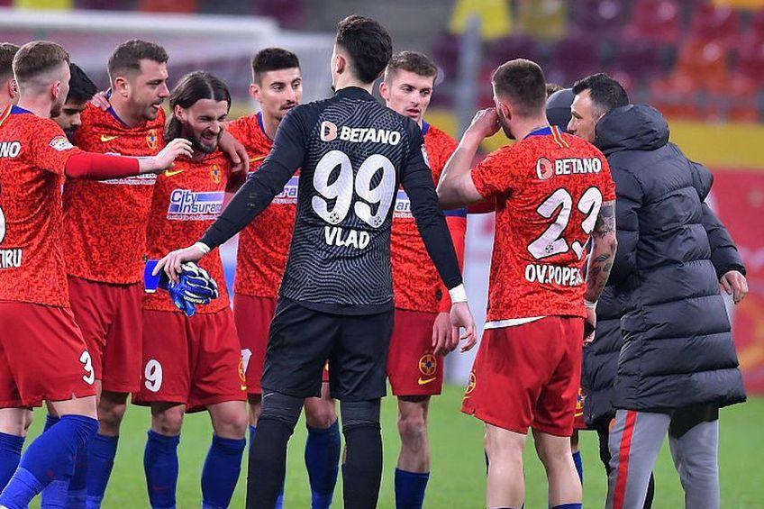 Toni Petrea, antrenorul lui FCSB, a anunțat că Ante Vukusic (29 de ani, atacant) s-a accidentat cu două zile înaintea meciului cu CFR Cluj.