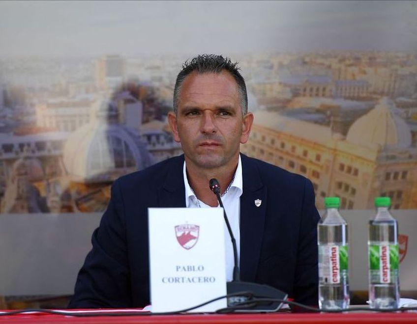 Pablo Cortacero nu cedează după prima bătălie juridică pierdută cu Dinamo. Pe 30 martie, la Tribunalul București, va contesta înlocuirea lui din funcția de președinte al Consiliului de Administrație.