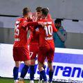 FCSB - FC Botoșani 2-1. Sursă foto: Facebook FCSB
