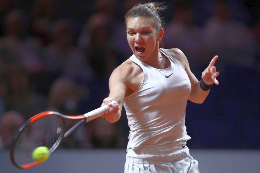 Simona Halep a evoluat ultima oară la Stuttgart în 2018, când s-a oprit în