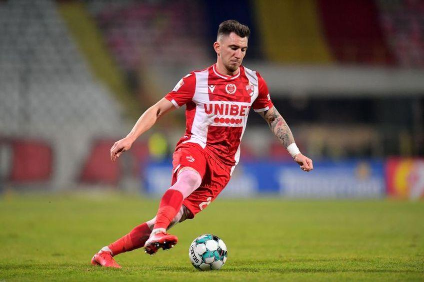 Constantin Nica, 28 de ani, este ultima mutare pregătită de Dinamo în lupta pentru evitarea retrogradării.