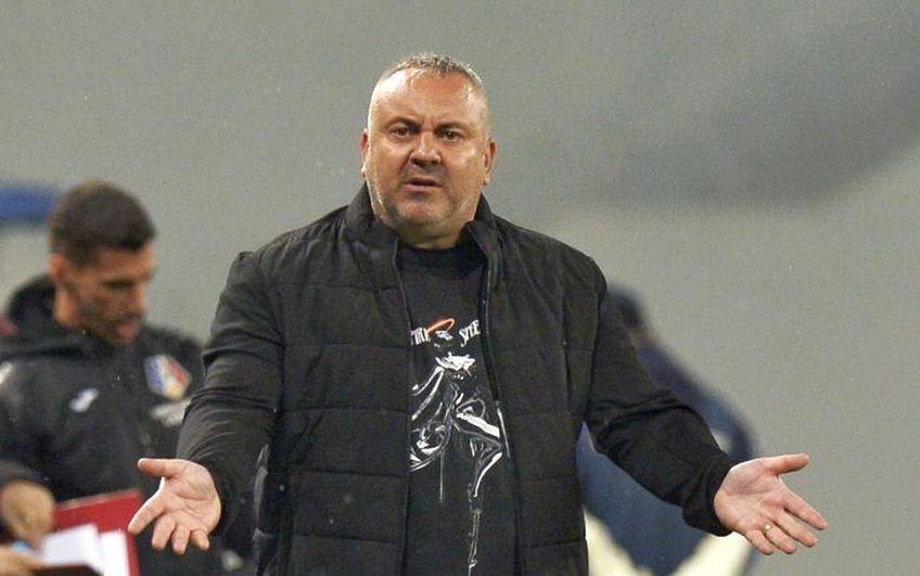 Mihai Iosif, antrenorul Rapidului, nu disperă după înfrângerea cu FC U Craiova, 0-1 (etapa #4 a play-off-ului din Liga 2).