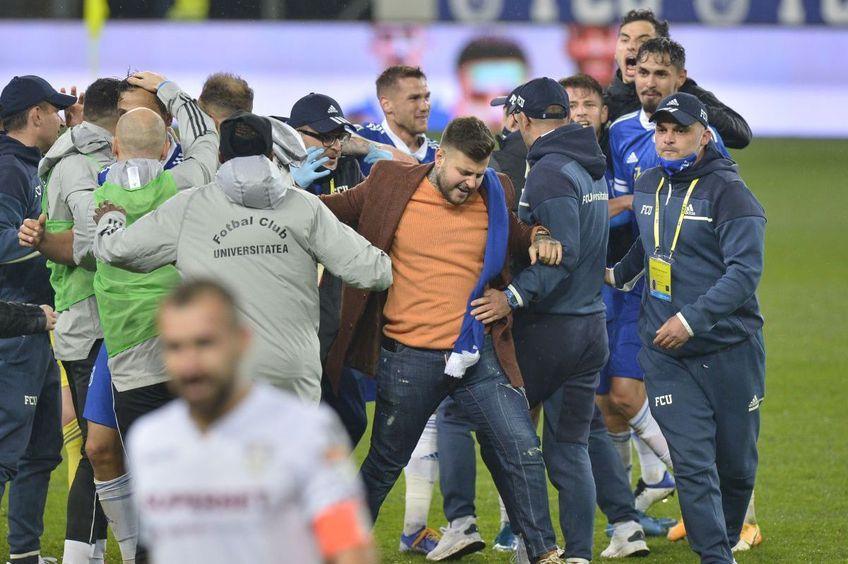 FC U Craiova a învins-o pe Rapid, scor 1-0, în derby-ul rundei #4 al play-off-ului din Liga 2.