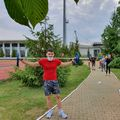 Băieții din lotul olimpic de judo au ieșit devreme la pregătire fizică FOTO COSR