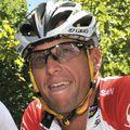 Lance Armstrong pe vremea când era ciclist activ