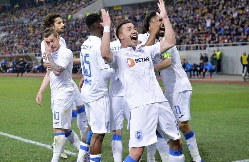 Universitatea Craiova se află pe a treia poziție în play-off-ul Ligii 1