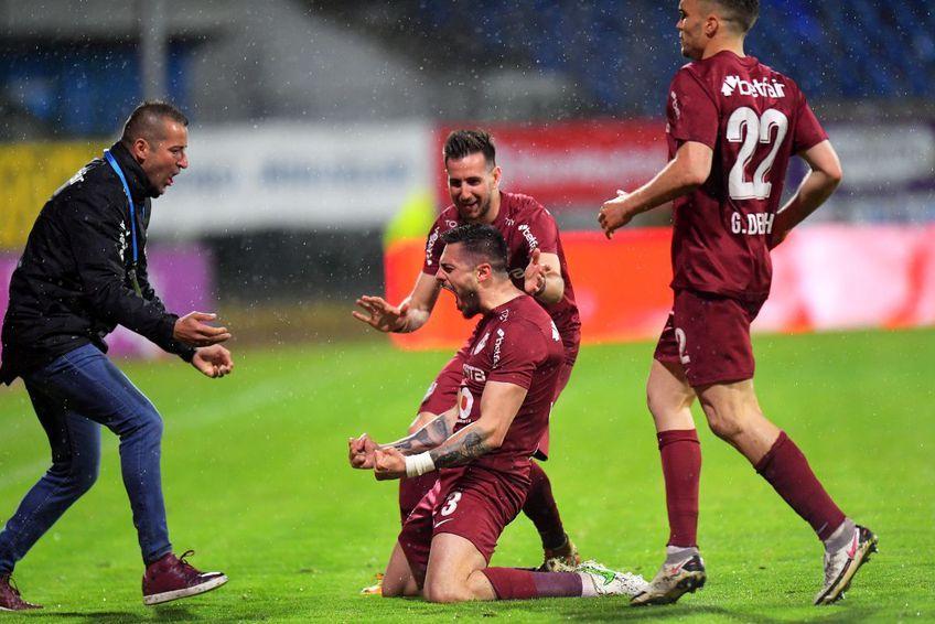 Andrei Burcă a adus victoria pentru CFR Cluj la Botoșani