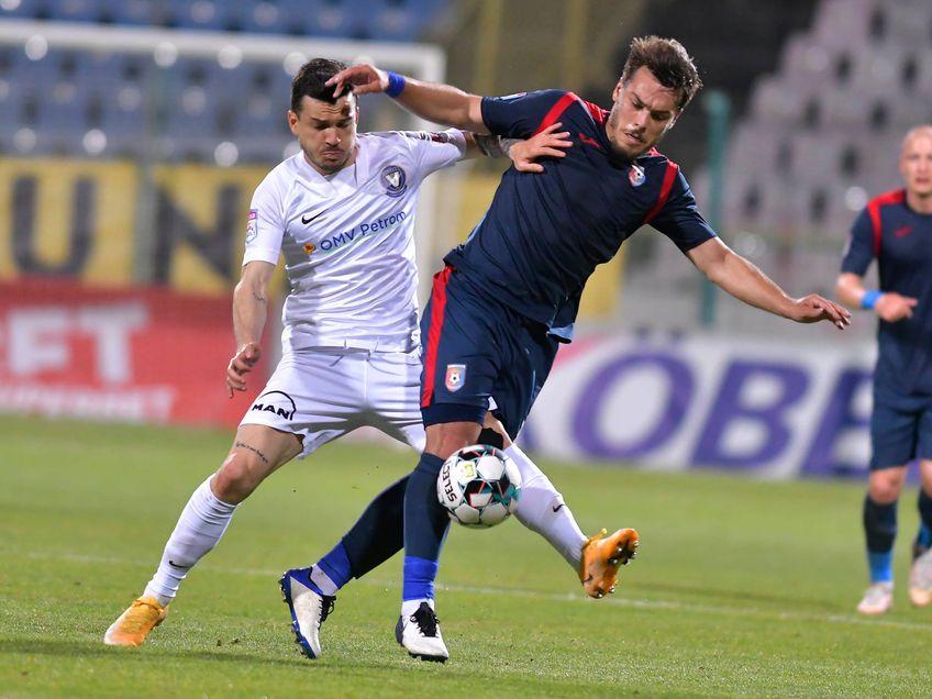 Emil Săndoi (56 de ani), antrenorul Chindiei Târgoviște, nu știe dacă va putea folosi 3 oameni de bază în barajul pentru Conference League, împotriva Viitorului.