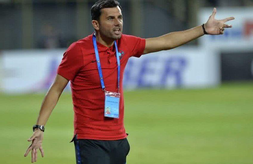 Nicolae Dică a antrenat un sezon și jumătate la FCSB, în perioada iunie 2017 - decembrie 2018
