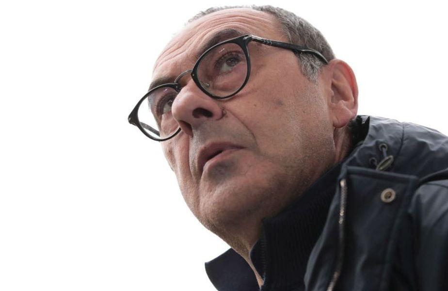 Maurizio Sarri n-a câştigat niciun trofeu în Italia. Are doar Europa League cu Chelsea FOTO Guliver/GettyImages