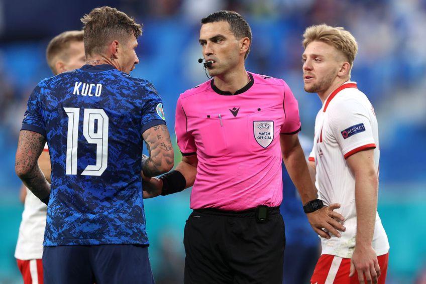 Euro 2020 este Campionatul European cu cele mai puţine faulturi comise după primele 10 meciuri. FOTO: Guliver/Getty Images