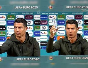 """Cristiano Ronaldo n-a fost primul! Cine i-a luat fața la EURO în războiul contra sucurilor: """"Să nu beți Coca Cola!"""""""