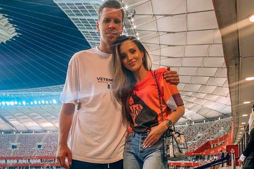 Marina Luczenko și Wojciech Szczesny / Sursă foto: Instagram.com/marina_official/