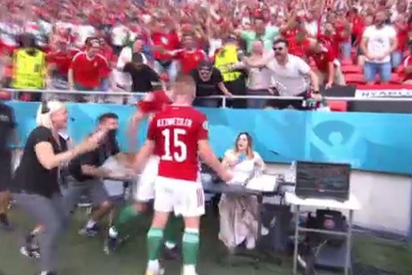 Attila Fiola a sărbătorit golul vs. Franța într-o manieră inedită