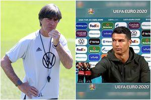 """Joachim Low, înainte de """"șocul"""" Portugalia - Germania: """"Cristiano poate face mai mult decât să dea la o parte sticlele de Coca-Cola"""""""